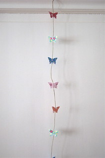 Paper garland - butterfly | by Hoekie