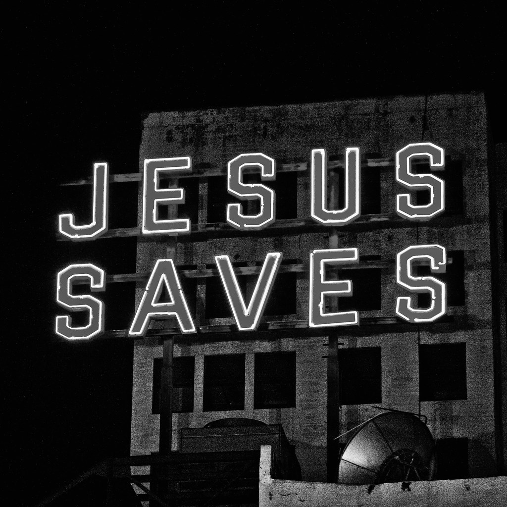 Jesus Saves, Plate 2 | by Thomas Hawk