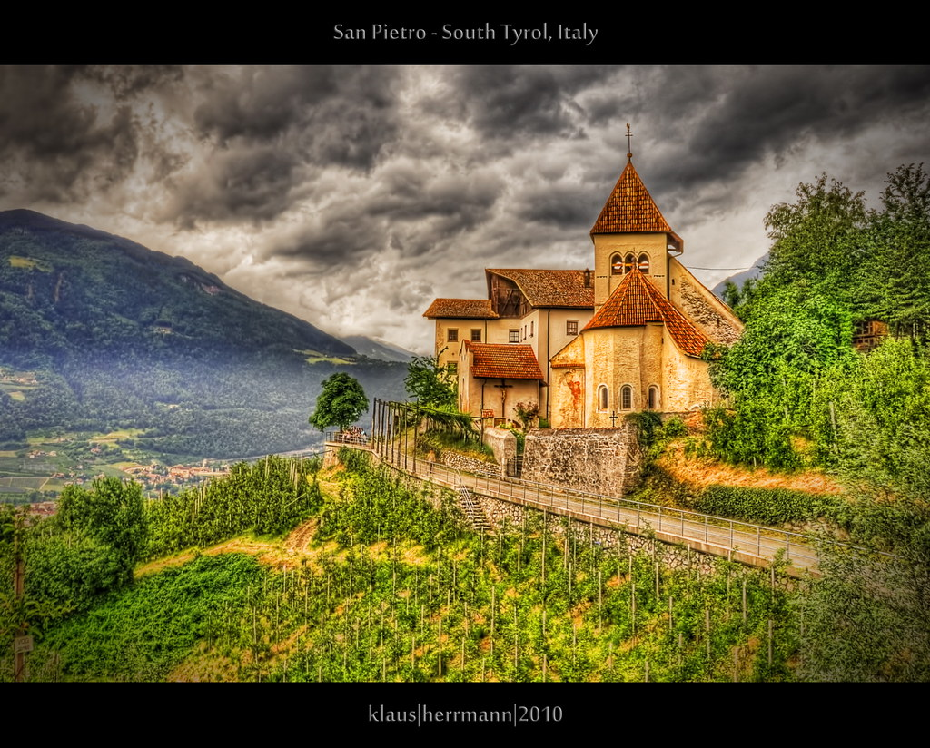 San Pietro - South Tyrol, Italy (HDR)   Explore the worl ...