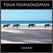 Four Horse(No)Men Of Paradise - IMRAN™ Stunning nature scene at Harbour Island Beach Eleuthera Caribbean — 5000+ Views!