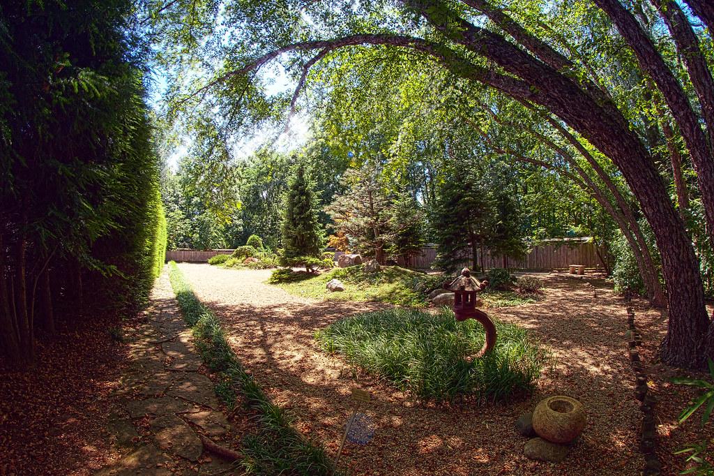 Japanese Garden Fernwood Botanical Gardens Hdr From Five Flickr