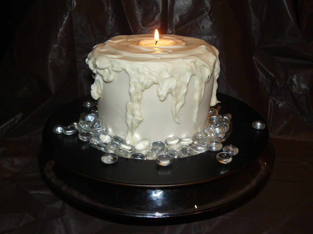 Images Of Cake With Candles : 3-D Candle cake I wanted to make this cake for a long ...