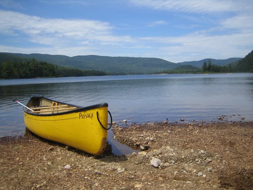 Canoeing in Mont Tremblant National Park | by johnomason