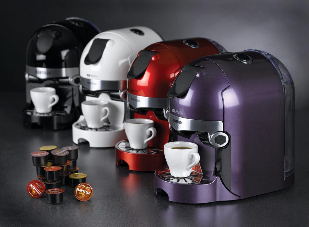 OBH Nordica Martello  Espressomaskin med kapselsystem