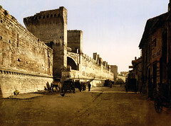 The ramparts, Avignon, Provence, France, ca. 1898