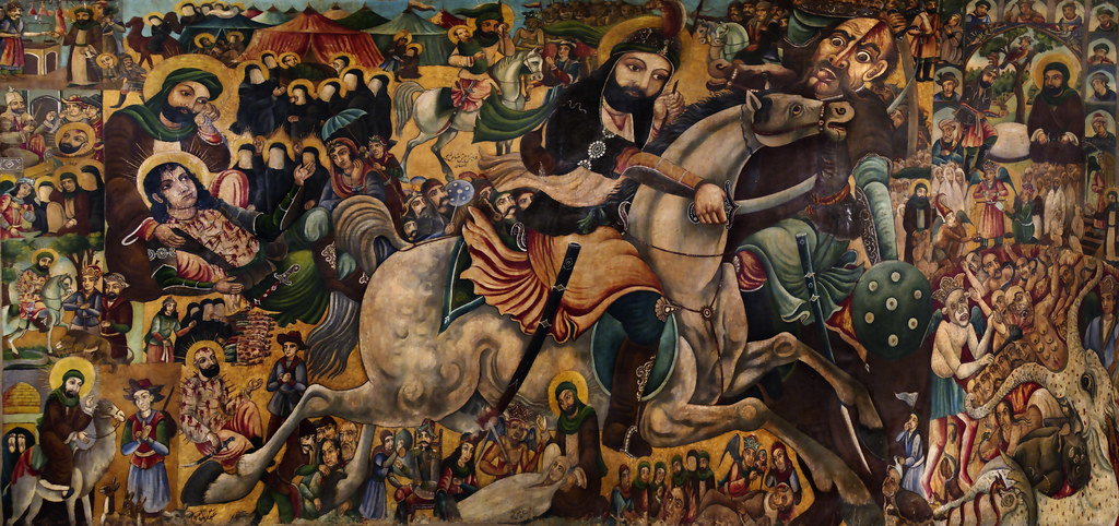 battle of karbala depicts the famous battle of karbala