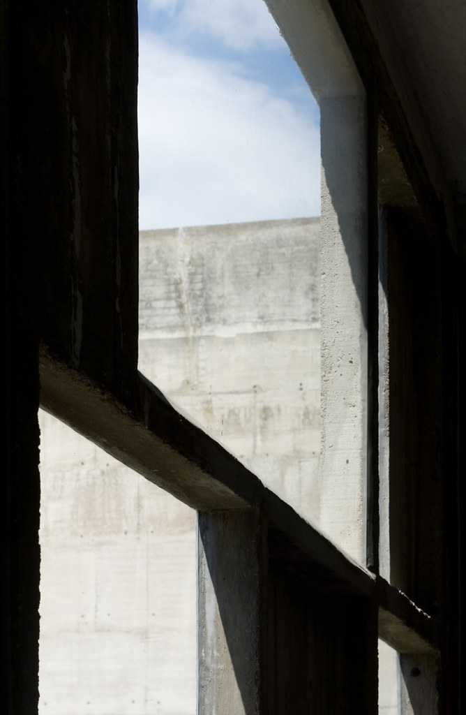 La Tourette | Concrete window frames Sainte Marie de La Tour… | Flickr