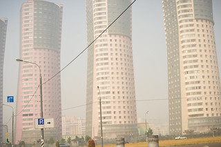 Moscow Smog & Towers | by goingslowly