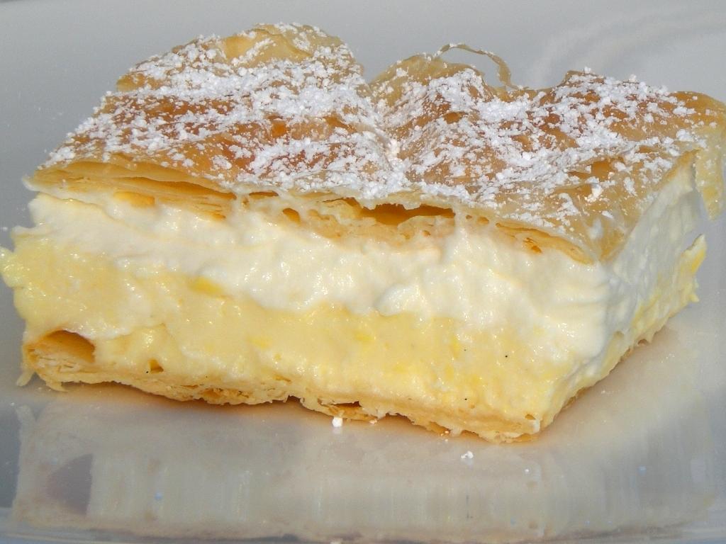 Cream Cake Recipe In English: Blejska Kremšnita