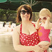 Me and Eleanor at the Pool