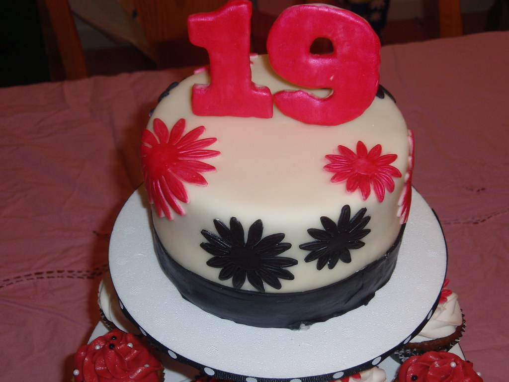 19th birthday cake Check out more @ my blog. Kelsie D ...