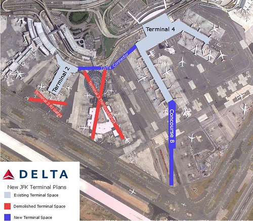 Delta Jfk Terminal Map on