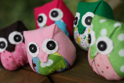 cupcake themed owls :) | by thecupcakery girl