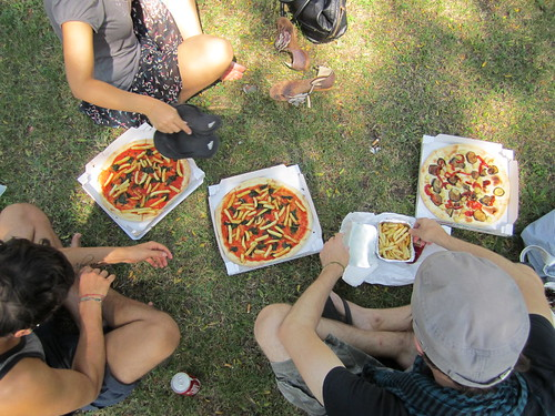 Pizza in the Park | by veganbackpacker