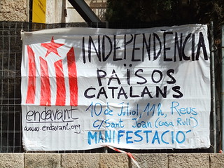Independence for Catalans -  Tarragona | by julie gibbons
