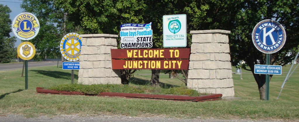 Junction City (KS) United States  city photos gallery : Welcome to Junction City Sign Junction City, Kansas | Flickr Photo ...