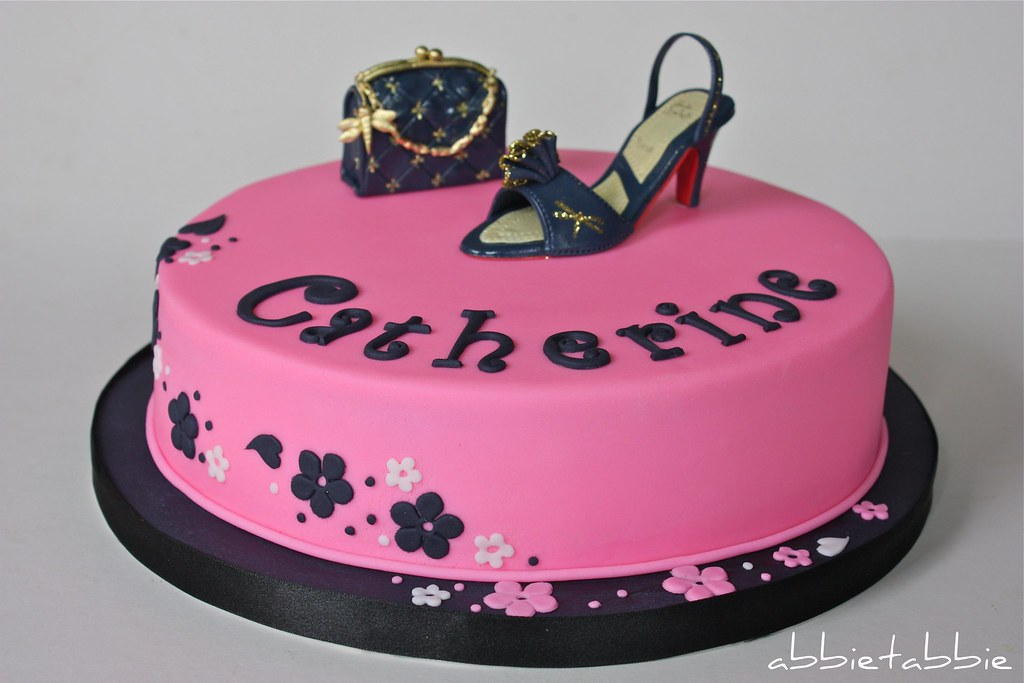 Birthday Cake For A Quot Fashionista Quot A K A