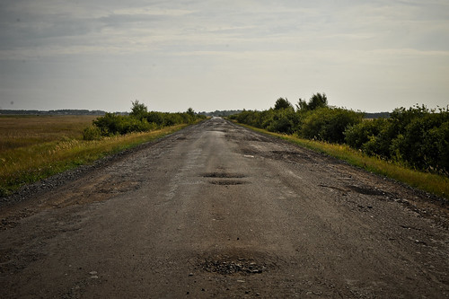 Russian Side Road | by goingslowly