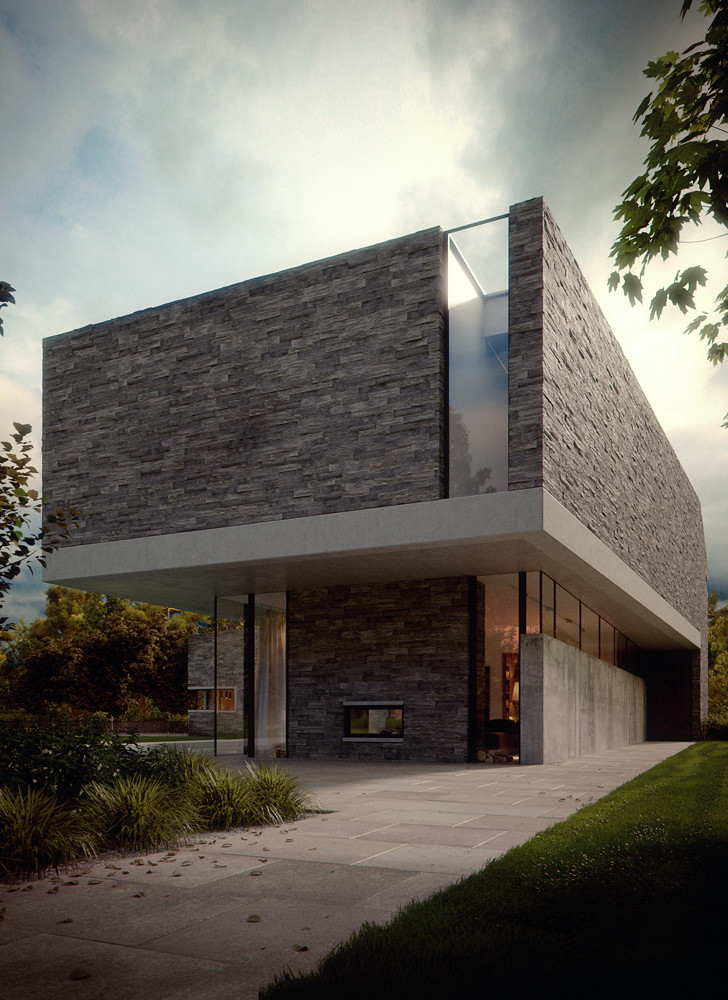 Modern House 3ds Max And Vray Bbb3viz Flickr