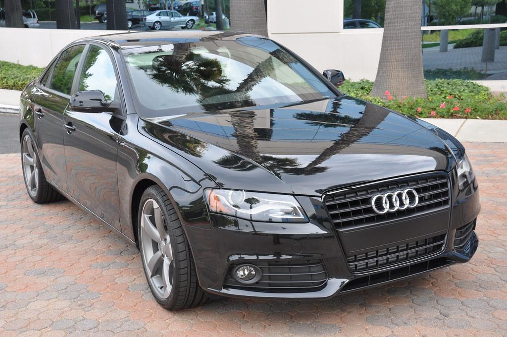 2011 Audi A4 K2 Black Edition 2011 Audi A4 K2 Black