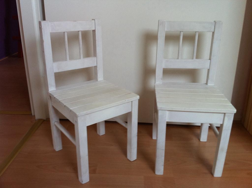 Ikea Stoel Wit : 2x ikea gulliver houten kinderstoelen wit link.marktplaatsu2026 flickr
