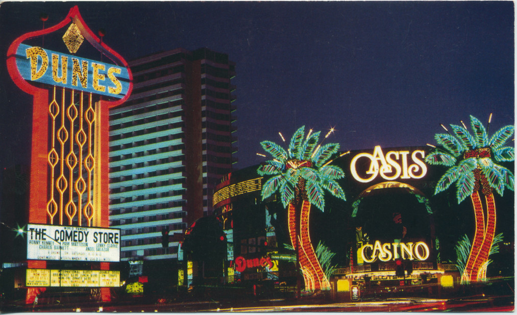 Dunes Las Vegas Postcard 1983 | Back reads: 'One of the ...