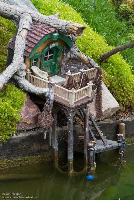 Disneyland Aug 2010 Riding The Storybook Land Canal