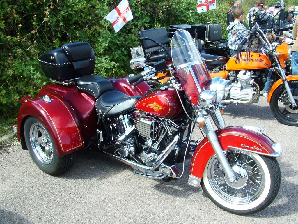 Harley Davidson Trike  Model Engine Size  Cc