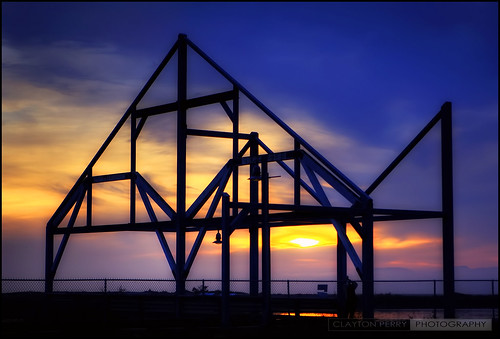 Framed Sunset | by Clayton Perry Photoworks