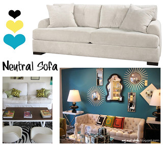 Neutral Sofa Inspiration1 | by Jessie {Creating Happy}