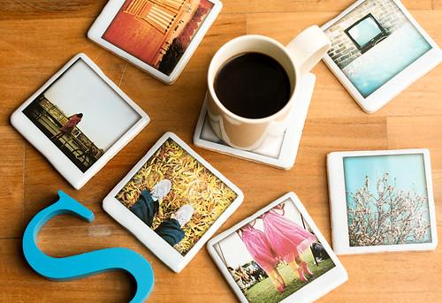 Polaroid Ceramic Coasters | by justnoey