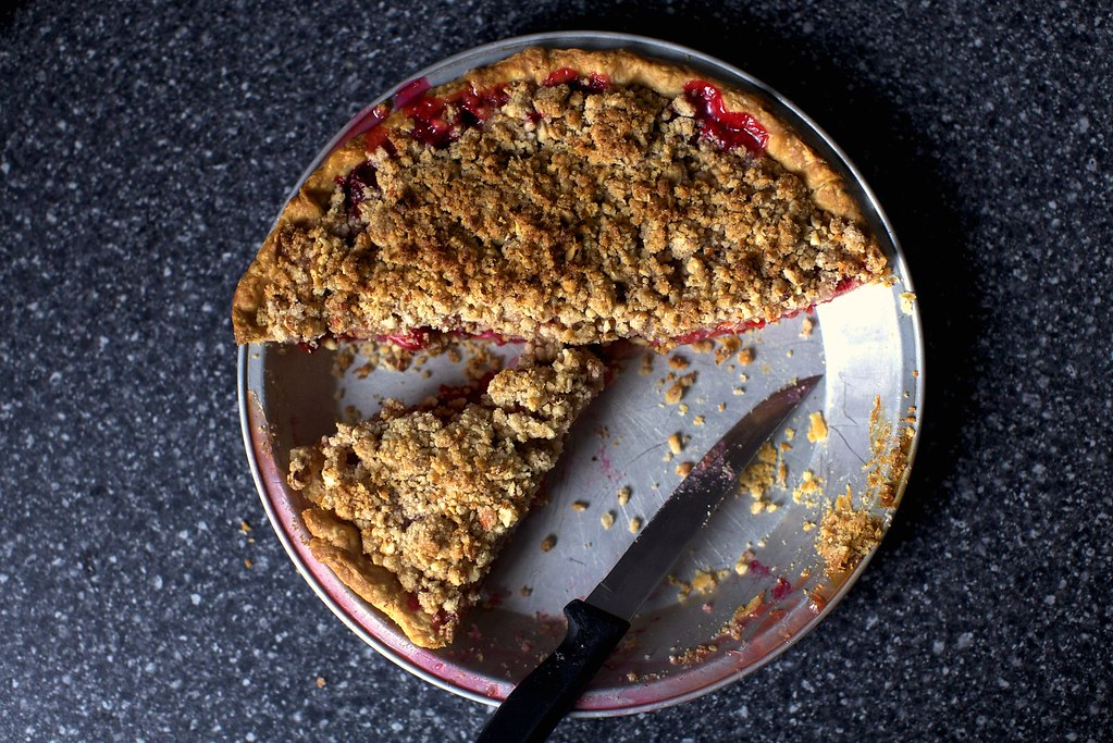 sour cherry pie with almond streusel | Sour Cherry Pie with ...