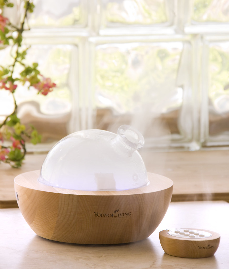 New Young Living Diffuser ~ Diffuser young living essential oils flickr