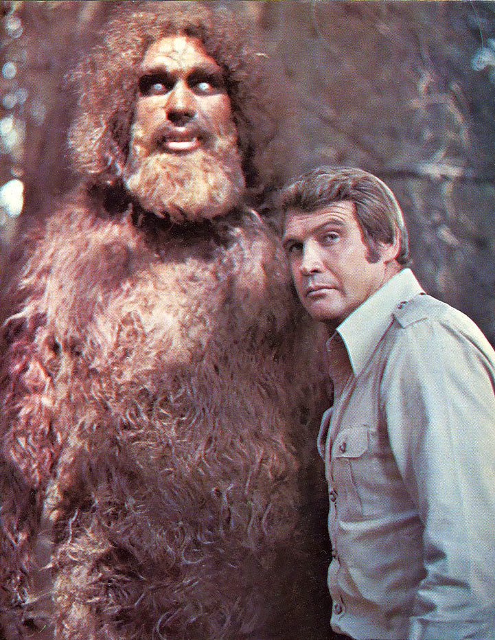 Six Million Dollar Man And Bigfoot By X Ray Delta