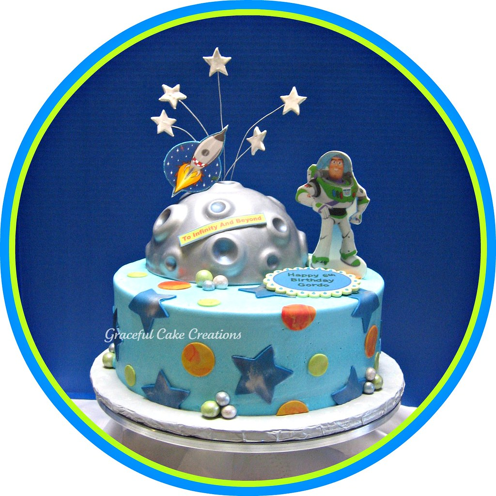 Buzz Lightyear Birthday Cake Grace Tari Flickr