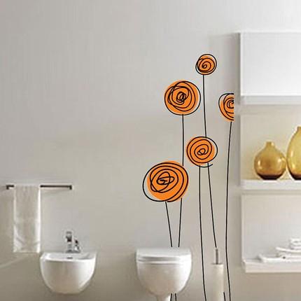 Flowers Vinyl Wall Art Decals