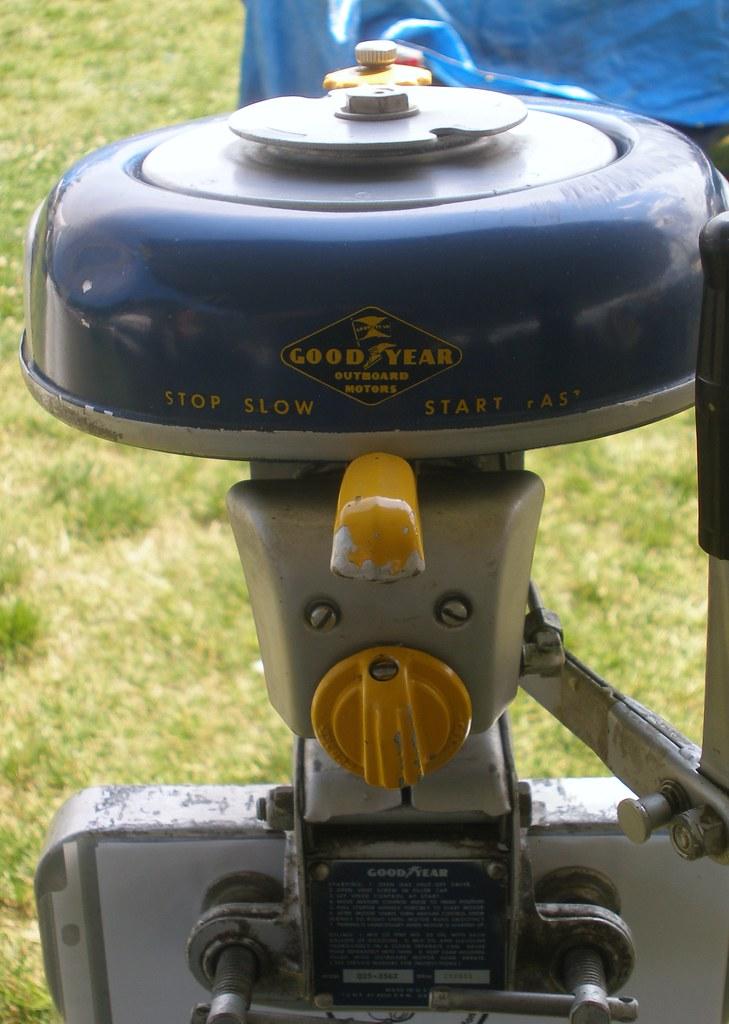 Goodyear Sea Bee Outboard Motor Island Girl Talk Flickr