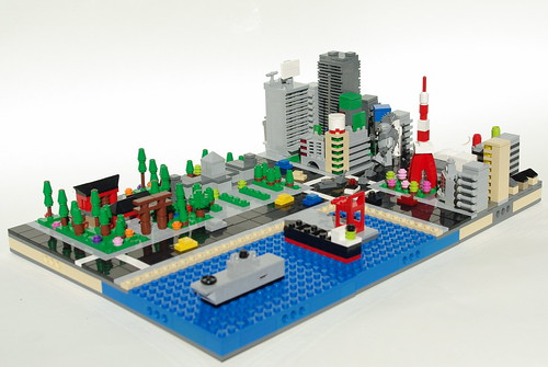 Micro LEGO Tokyo | by Dunechaser