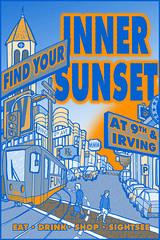 Inner Sunset Poster