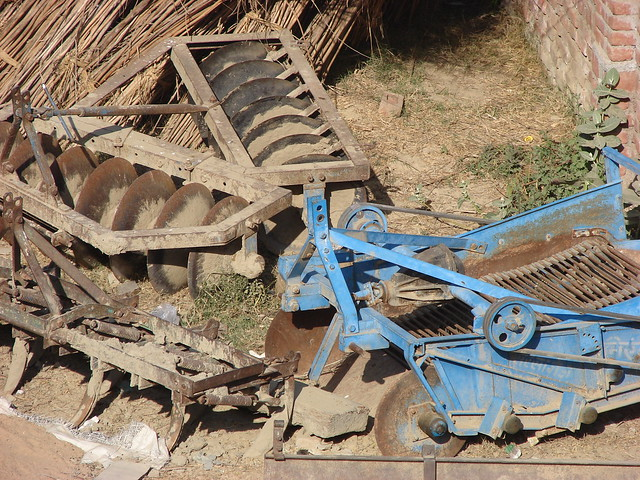 Agriculture equipment for potato crop