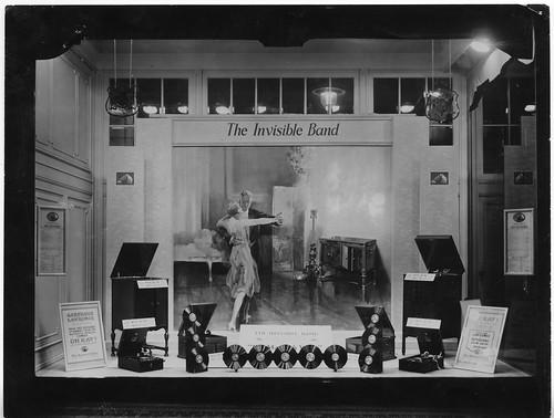 hmv 363 Oxford Street, London - 1927