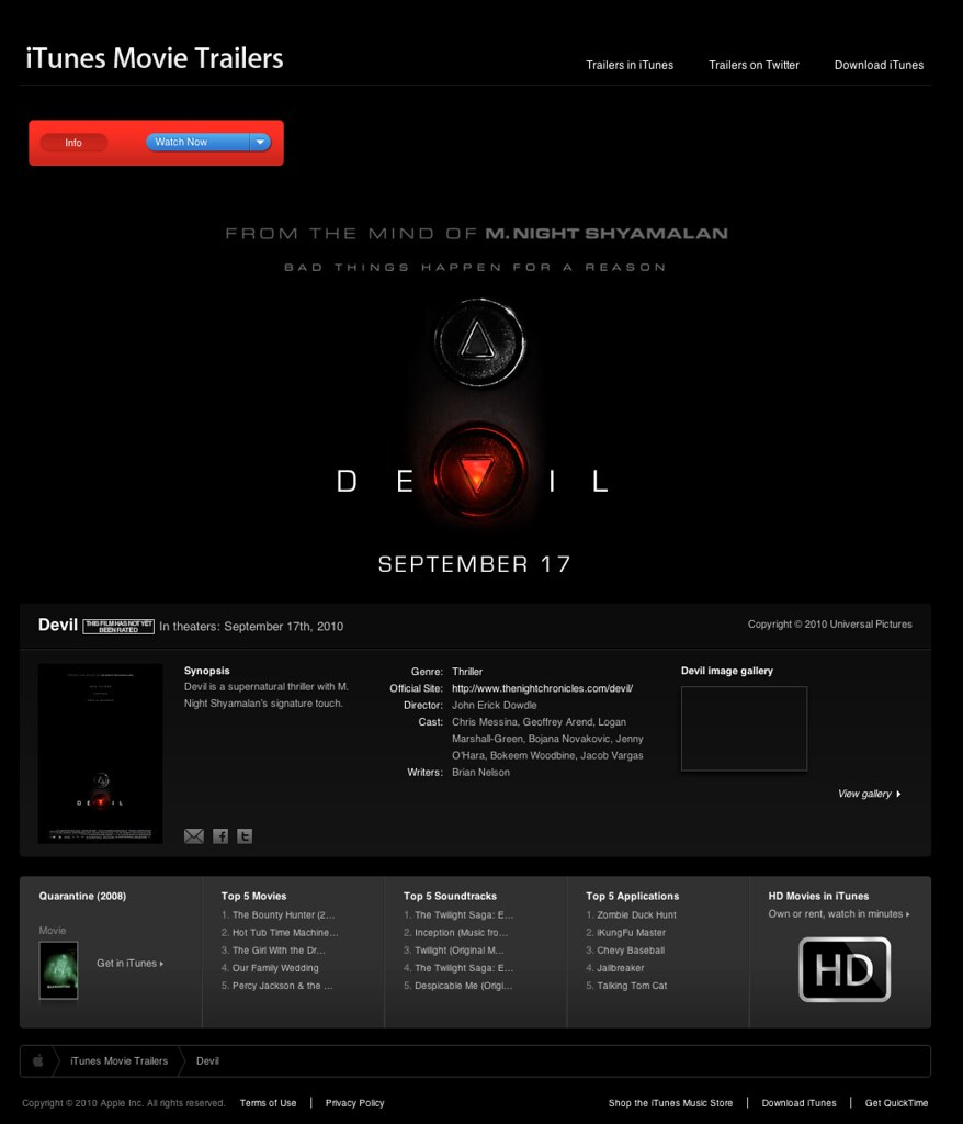 Devil - Movie Trailers - iTunes | trailers.apple.com ...