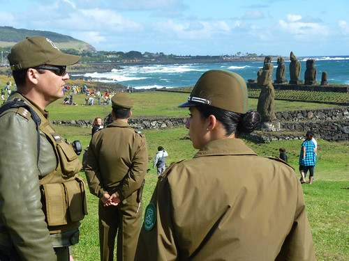 Police, Easter Island | by davitydave