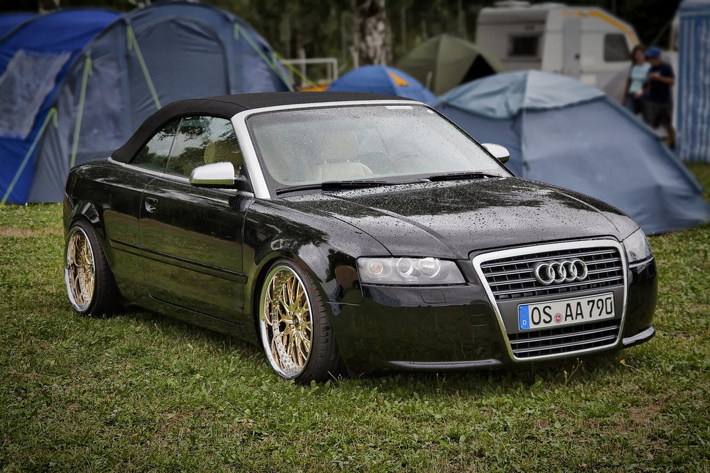 Audi A4 Cabriolet Tuning Images