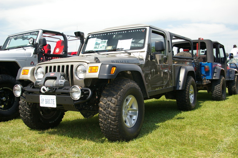 Jeep Tj Brute Pickup Truck By Aev License Plate Quot Jp Brut