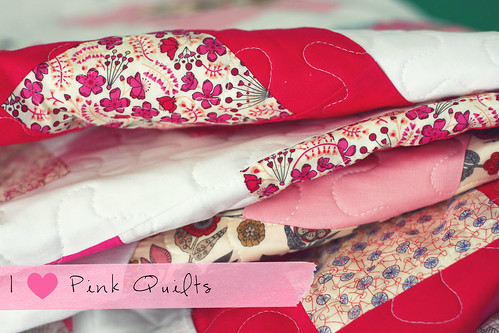 I *Heart* Pink Quilts | by The Sometimes Crafter