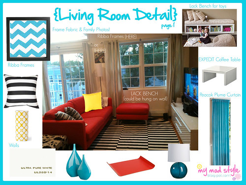 Melissa living room detail1 | by Jessie {Creating Happy}