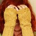 Swerve fingerless mitts!