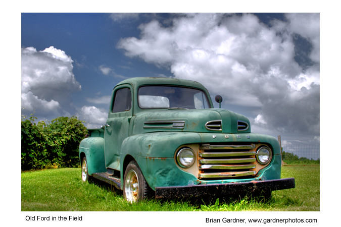 Old Ford In The Field Www Gardnerphotos Com This Old