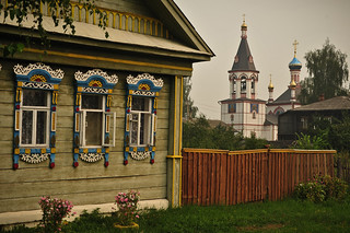 Russian Home & Church | by goingslowly